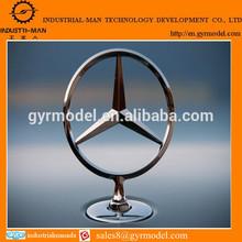 professional Benz front brand ornament rapid prototypes