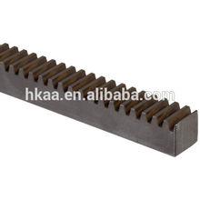 CNC machined steel rack gear,cnc gear rack rail