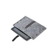 Velvet leather laptop bags, cases