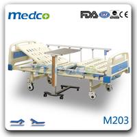 M203 Double cranks cradles manual hospital bed