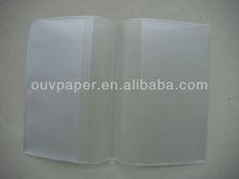 clear plastic book cover , school book cover design