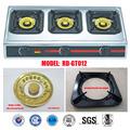 Utensilios de cocina, Cookerstove, 3 quemador de gas ( RD-GT012 )