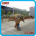 Hallowmas green mascot dinosaur costume for sale