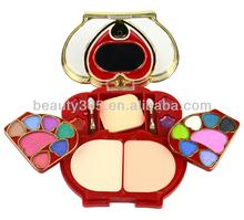 Cosmetics Make Up Kit/Sets Eye Shadow & Power cake & Lip Gloss & Rouge