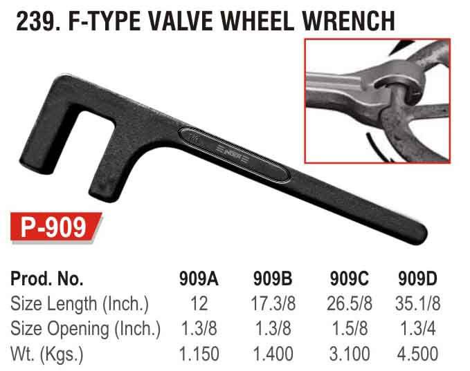 single open valve wheel wrench Quotes