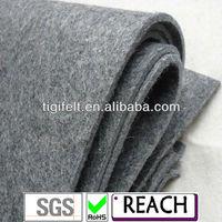 Industry 2mm - 20mm 100% Grey Wool Felt Fabric