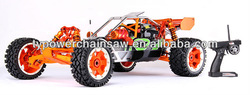 New style 1/5 gas rc car 305C with walbro and NGK