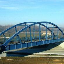 Portable small steel bridges
