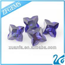 sapphire blue synthetic corundum China supplier