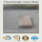 transparent polycarbonate sheet for bus stop roofing & fluorescent polycarbonate sheet