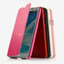 New arrival pu leather flip case for samsung galaxy note3 phone case