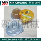 plastic cup sealing lid machine