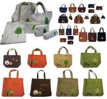 applique patchwork embroidery designs cotton fabric fashion canvas tote bag shoulder bag promotion bag (JB-P04)