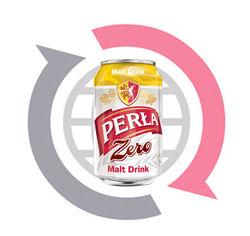 Perla Malt Drink - non alcoholic beverage 330ml