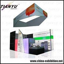 aluminum fabric exhibition booth desk
