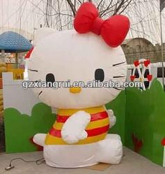 High Quality Cute Hello Kitty Inflatable Cartoon