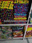 high quality printed cotton fabric poplin