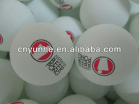 customs logo printed celluloid 2 star quality 40mm seamless beer pong game ball
