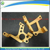 hot sale Golden Color Sand Blasted Anodized Cnc part