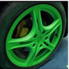 Fast Dry Removable Paint For Rubber Surface green color