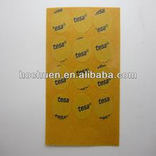 Adhesive tesa tape die cutting