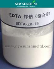 EDTA Zn organic zinc foliar fertilizer