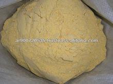 Corn flour for human consumption