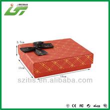 coloring 2012 new design christmas gift box ornament China printing
