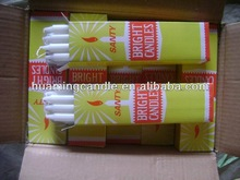 pillar candle with 8pcs X30box-white plain candle-home bougie -exporting from shijiazhuang huaming Candle factory