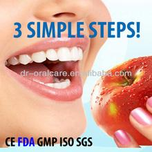 Mint flavor dental teeth whitening strips,tooth whitening strips, tooth whitening whitestrip
