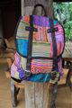 sac à main de broderie style lanna hmong tribale en thaïlande