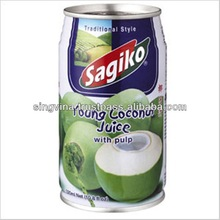 Drink- Sagiko Young Coconut Juice with Pulp 320ml