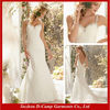 WD-2204 All lace overlay low open back hot sex wedding dress cheap lace wedding dress