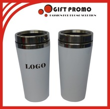 Custom Logo Insulated Plastic Travel Mug
