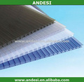 isolado de plástico transparente do telhado