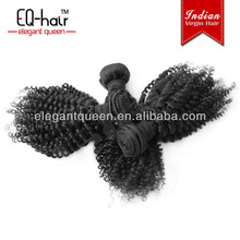 Wholesale cheap 100% kinky curly virgin indian hair,afro curl virgin indian hair weave