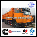 chinês hot venda euro 2 25 ton 3 eixos isme weichai motor 6x4 três eixos do caminhão basculante como scania 8x4 basculante