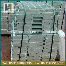 hot dipped galvanized steel grating platform grating steps