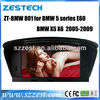 ZESTECH 8 inch Entertainment 2 Din Car DVD Player for BMW 5 series (E60)/X5/X6 with built-in GPS, Dual Zone,Digital Panel, RDS