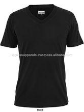 V-neck Custom Printed T-shirts