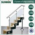 Chine Foshan 201 304 316 tuyaux en acier inoxydable escalier main courante