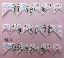 Sweet Love Design Nail Sticker Good Quality Nail Wraps