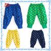 high quality cotton fleece boy pants star printing