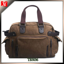 Expandable travel bag for wholesale folding canvas fashion overnight travel bags