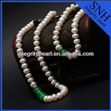 Genuine freshwater stylish hyderabad pearl set wholesale