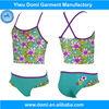Domi wholesale top cute floral little models girls child modeling swimwear/kids girl swimwear/sexy child girl swimwear