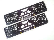 RENAULT car European & UK license number plate frame / surround / holder
