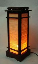 Modern teak wood floor lamp for spa home hotel resort decoration