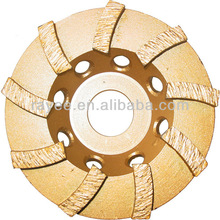 High Frequency Welded Double Row Diamond Cup Wheel