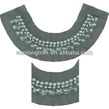 Mesh beaded collar garment accessories for blouse/women dress